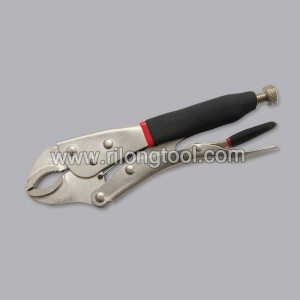 7″ Backhand Round-Jaw Locking Pliers with Jackets