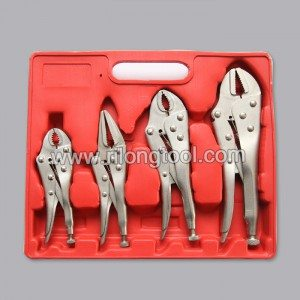 4-PCS Locking Pliers Sets packaged by BMC