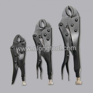 3-PCS Locking Pliers Sets surface by Electrophoresis