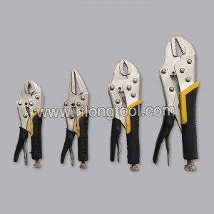 4-PCS Locking Pliers Sets with Jackets
