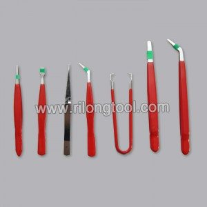 7-PCS Anti-static Tweezer Sets