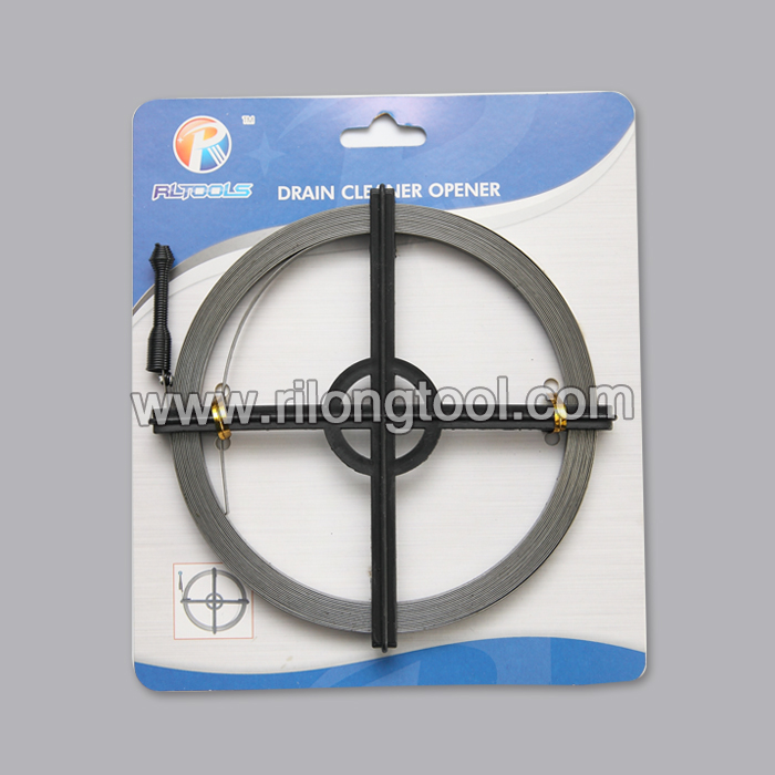 Metal Drain Cleaner packing by cross